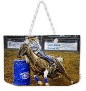 Dappled Barrelracer Weekender Tote Bag