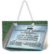 Dardanelle Plack Weekender Tote Bag
