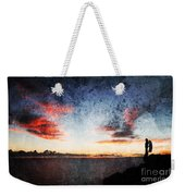 Dark Angel Weekender Tote Bag by Stelios Kleanthous