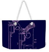 Dark Beaumont Revolver Patent Weekender Tote Bag
