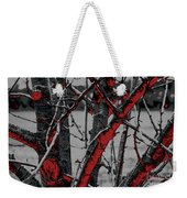 Dark Branches Weekender Tote Bag