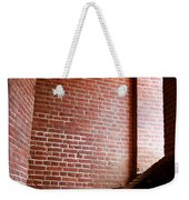 Dark Brick Passageway Weekender Tote Bag by Frank Romeo