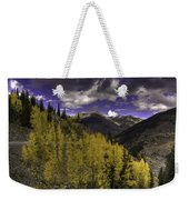 Dark Brightness Weekender Tote Bag
