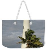 Dark Clouds Over Cape Florida Weekender Tote Bag