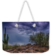 Dark Desert Skies  Weekender Tote Bag
