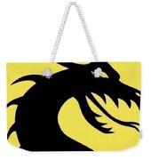 Dark Dragon Weekender Tote Bag