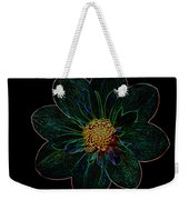 Dark Flower 2 Weekender Tote Bag