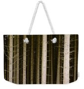 Dark Forest At Kielder Weekender Tote Bag
