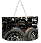 Dark Old Garage Weekender Tote Bag