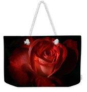 Dark Red Rose Weekender Tote Bag