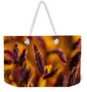 Red Flower Stamens Weekender Tote Bag