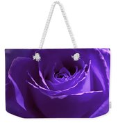 Dark Secrets Purple Rose Weekender Tote Bag by Jennie Marie Schell