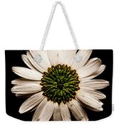 Dark Side Of A Daisy Square Weekender Tote Bag