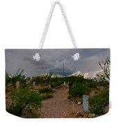 Dark Sky Over Tombstone Weekender Tote Bag