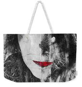 Dark Thoughts Weekender Tote Bag