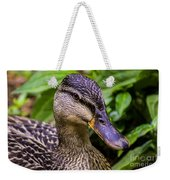 Darling Duck Weekender Tote Bag