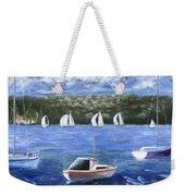 Darling Harbor Weekender Tote Bag