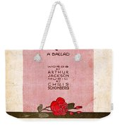 Darling Weekender Tote Bag