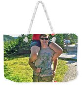 Couple From Saskatchewan On Skyline Trail In Cape Breton Highlands National Park-nova Scotia-canada  Weekender Tote Bag