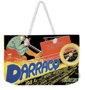 Darracq Suresnes France Weekender Tote Bag