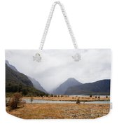 Dart River Valley Rain Clouds Mt Aspiring Np Nz Weekender Tote Bag