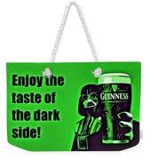 Darth Drinks Guinness Weekender Tote Bag