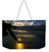 Dash Of Sunset Weekender Tote Bag