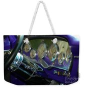 Dashboard Glam Weekender Tote Bag