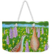 Dating When Orchids Blooming Weekender Tote Bag