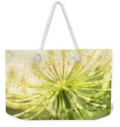 Daucus Carota - Queen Anne's Lace - Wildflower Weekender Tote Bag