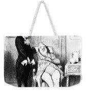 Daumier: Doctor Cartoon Weekender Tote Bag