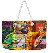 Dave Matthews-bartender Weekender Tote Bag