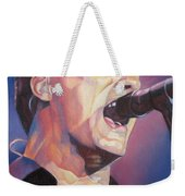 Dave Matthews Colorful Full Band Series Weekender Tote Bag by Joshua Morton