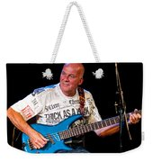 Dave Pegg Bass Player For Fairport Convention And Jethro Tull Weekender Tote Bag