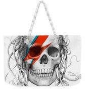 David Bowie Aladdin Sane Medusa Skull Weekender Tote Bag