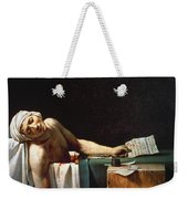 David: The Death Of Marat Weekender Tote Bag