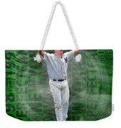 David Wells Yankees Perfect Game 1998 Weekender Tote Bag