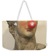 David With Makeup And Clown Nose 1 Weekender Tote Bag