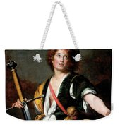 David With The Head Of Goliath, C.1636 Oil On Canvas Weekender Tote Bag