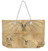 Davinci's Wings Weekender Tote Bag