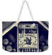 Davy Crocketts Tennessee Whiskey Weekender Tote Bag