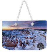 Dawn At Bryce Weekender Tote Bag