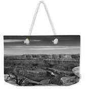 Dawn At Dead Horse Point Bw Weekender Tote Bag