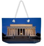 Dawn At Lincoln Memorial Weekender Tote Bag