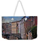 Dawn In Bruges Weekender Tote Bag