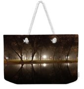 Dawn Mist Rising At Sycamore Pool  Weekender Tote Bag