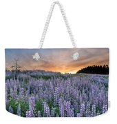 Dawn Of Lupine Weekender Tote Bag
