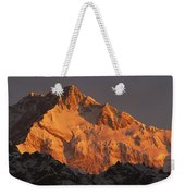 Dawn On Kangchenjunga Talung Weekender Tote Bag