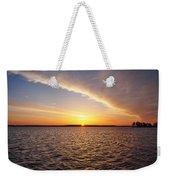 Dawn On The Chesapeak - St Michael's Maryland Weekender Tote Bag