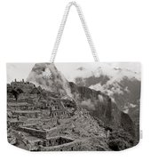 Dawn Over Machu Picchu Weekender Tote Bag